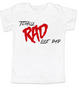 Rad like Dad, Totally RAD toddler shirt, 80's toddler t-shirt, funny retro kid shirt, Rad like Dad kid shirt