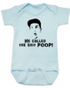 Adam Sandler baby Bodysuit, Billy Madison baby Bodysuit, poop blue baby clothing