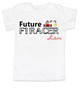 Future F1 Racer toddler shirt, Future race car driver, Formula one racing kid, indy car racing toddler, parents that love F1 racing, personalized F1 racer toddler gift, boy f1 racer, white