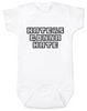 Haters Gonna Hate Baby Bodysuit, Gangsta baby, Players gonna play, badass baby onsie, funny gangster baby Bodysuit, Don't hate on me infant bodysuit