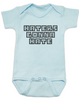 Haters Gonna Hate Baby Bodysuit, Gangsta baby, Players gonna play, badass baby onsie, funny gangster baby Bodysuit, Don't hate on me infant bodysuit, blue