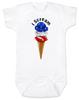 red white blue ice cream Bodysuit whiteamerican flag Bodysuit whitepatriotic Bodysuit whiteamerica baby Bodysuit whiteamerican flag Baby bodysuit whiteUnique patriotic baby clothing