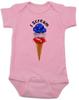 red white blue ice cream Bodysuit pinkamerican flag Bodysuit pinkpatriotic Bodysuit pinkamerica baby Bodysuit pinkamerican flag Baby bodysuit pinkUnique patriotic baby clothing