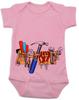 Tool Belt baby Bodysuit pinkTools baby BodysuitTools Bodysuit
