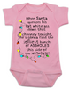 Christmas Story baby Bodysuit, jolliest bunch of assholes Bodysuit, classic Christmas Movie Bodysuit, A Christmas Story, funny christmas baby clothes, funny holiday baby Bodysuit, pink