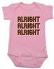 Alright Alright Alright Baby Bodysuit