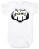 Big Racks Baby Onesie, cowboy baby gift set