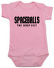 spaceballs the bodysuit, spaceballs the movie baby gift, pink