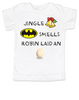 Jingle bells, batman smells, funny christmas toddler clothes, robin laid an egg, funny jingle bells kid shirt, silly christmas toddler shirt