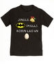 Jingle bells, batman smells, funny christmas toddler clothes, robin laid an egg, funny jingle bells kid shirt, silly christmas toddler shirt, black