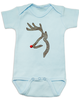 Rudolph red-nosed reindeer camoflage baby onese reindeer camo christmas baby Bodysuit