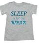 Sleep is for the weak toddler shirt, sleep deprived mom gift, funny toddler shirt about sleep, Sleep is for the weak, toddler doesn't sleep, funny shirt for the sleep deprived mother