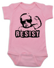 Resist Baby Bodysuit, protest baby Bodysuit, Resist infant bodysuit, , funny political baby girl clothes, baby protester, anti-trump baby gift, pink
