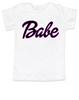 Babe toddler shirt, little barbie girl toddler shirt, Future babe
