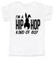 Hip Hop kind of guy toddler shirt, hip hop kind of girl toddler shirt, Cool Easter kid tshirt, funny easter toddler shirt, hip hop music kid shirt, Easter toddler gift for hip parents, I'm a hip hop kind of guy, white