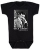Nikola Tesla quote baby Bodysuit, fuck edison tesla quote, funny science baby onsie, black