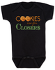 Cookies are for closers baby Bodysuit, Boss Baby Bodysuit, funny boss baby gift, boss baby halloween costume, black