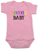 Voodoo Baby Bodysuit, voodoo lady baby bodysuit, ween baby Bodysuit, ween voodoo lady, voodoo baby, pink