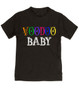 Voodoo Baby Toddler shirt, voodoo lady toddler tshirt, ween kid shirt, ween voodoo lady, voodoo baby, black