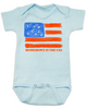 Homegrown in the USA baby Bodysuit, patriotic baby Bodysuit, fourth of july, memorial day, veterans day, American pride baby onsie, proud to be american, born in the USA baby Bodysuit, blue
