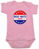 Deeznuts baby Bodysuit, deeznuts 2020, funny political baby onsie, political candidate infant bodysuit, Baby Shower Gag Gift, Election year baby, 2020 election Bodysuit