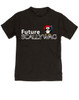 Future Scallywag toddler shirt, future personalized toddler shirt, future pirate, custom pirate toddler gift, Little Scallywag, gift for pirate parents, black