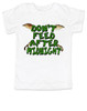 Don't feed after midnight, gremlins toddler shirt, gremlins movie kid shirt, 80's movie toddler gift, mogwai, gizmo
