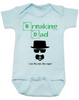 Breaking Dad Baby Bodysuit, HeisenBaby, I am the one who naps, Heisenburg, Badass baby, Breaking Bad, blue