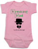 Breaking Dad Baby Bodysuit, HeisenBaby, I am the one who naps, Heisenburg, Badass baby, Breaking Bad, pink