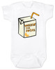 Wheezin the juice, wheeze the juice baby bodysuit, pauly shore, 90's baby gift, 90s movie baby bodysuit,  Encino man, wheez the juice baby