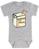 Wheezin the juice, wheeze the juice baby bodysuit, pauly shore, 90's baby gift, 90s movie baby bodysuit,  Encino man, wheez the juice baby, grey