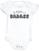 My Mom is a Badass Bodysuit, Mommy & Me matching set, Badass Mom, Mother's Day Gift