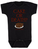 cake or death, funny baby bodysuit, cake please, eddie izzard baby, eddie izzard sketch cake or death, I'll take the cake