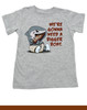 We're gonna need a bigger boat, Baby Jaws toddler shirt, shark eating boat, cute shark toddler shirt, we are going to need a bigger boat, funny shark toddler shirt, growing family toddler, grey