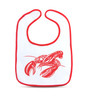 Lobster baby gift set, dressed to spill, daddy's fishing buddy, future fisherman, seafood baby, parents love to cook, master chef, future chef, lobster claw baby teether, lobster baby teether, lobster baby bib, funny baby gift set, baby gift for seafood lovers, ocean baby, bib & teether set, bib only