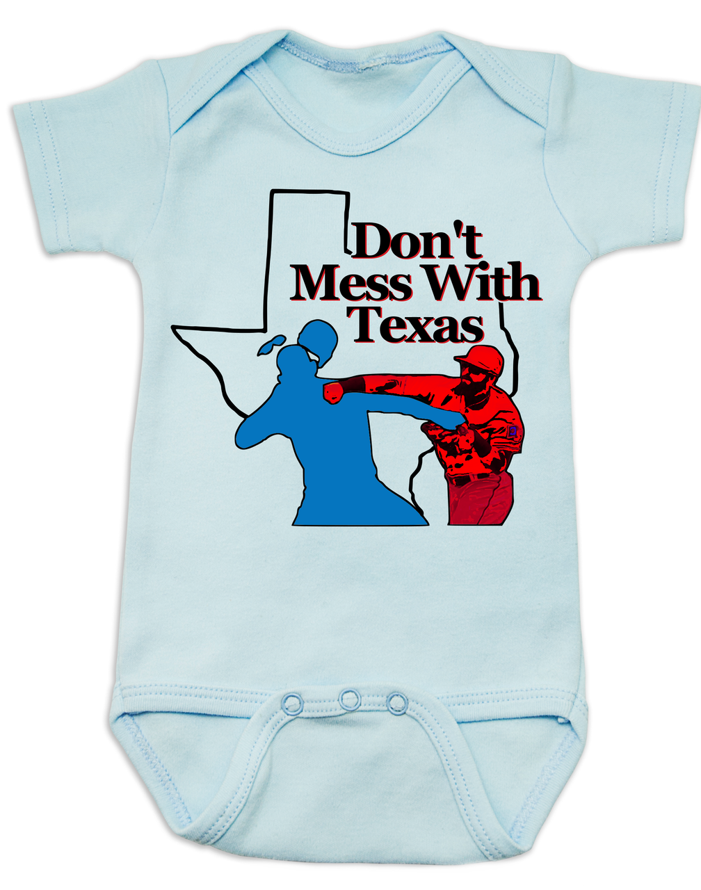 online store f7178 564d8 Don't Mess With Texas Baby Bodysuit