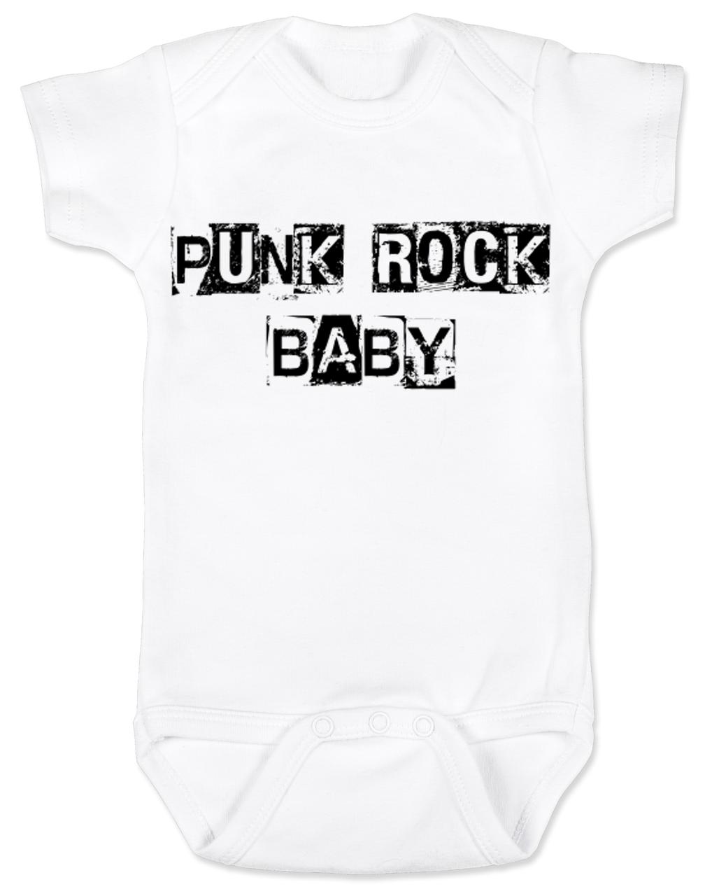 0fe3ec11d Punk Rock Baby Bodysuit, hardcore baby, rock and roll, punk baby onsie