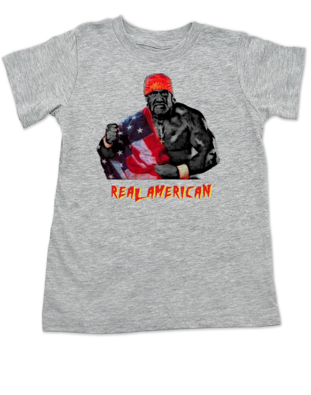 Real American Toddler Shirt Hulk Hogan T Pride