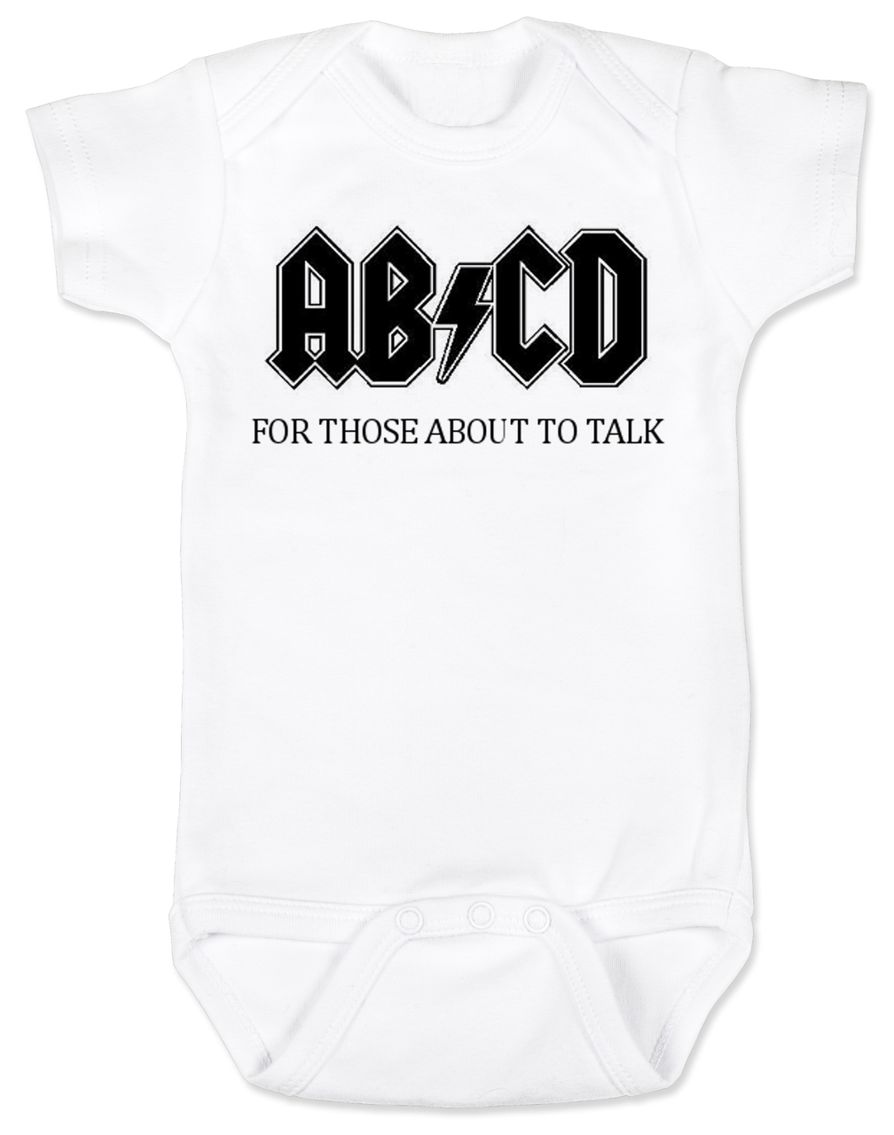 For those about to Crawl Baby Romper Customized Baby Onesie Baby Bodysuit ABCD