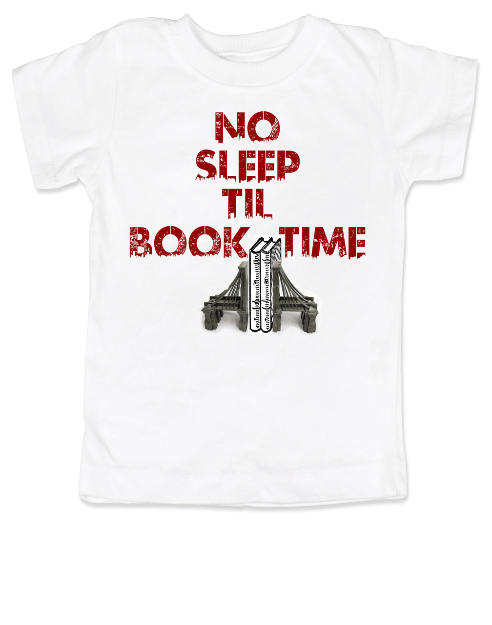 df2f5f4cf No Sleep Til Book Time Toddler Shirt