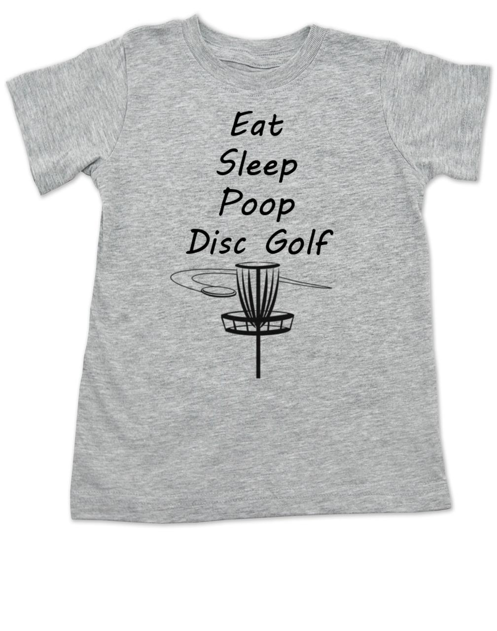 aa40a3c9 Eat Sleep Poop Disc Golf toddler shirt, Future Disc Golfer, Disc golf  toddler t