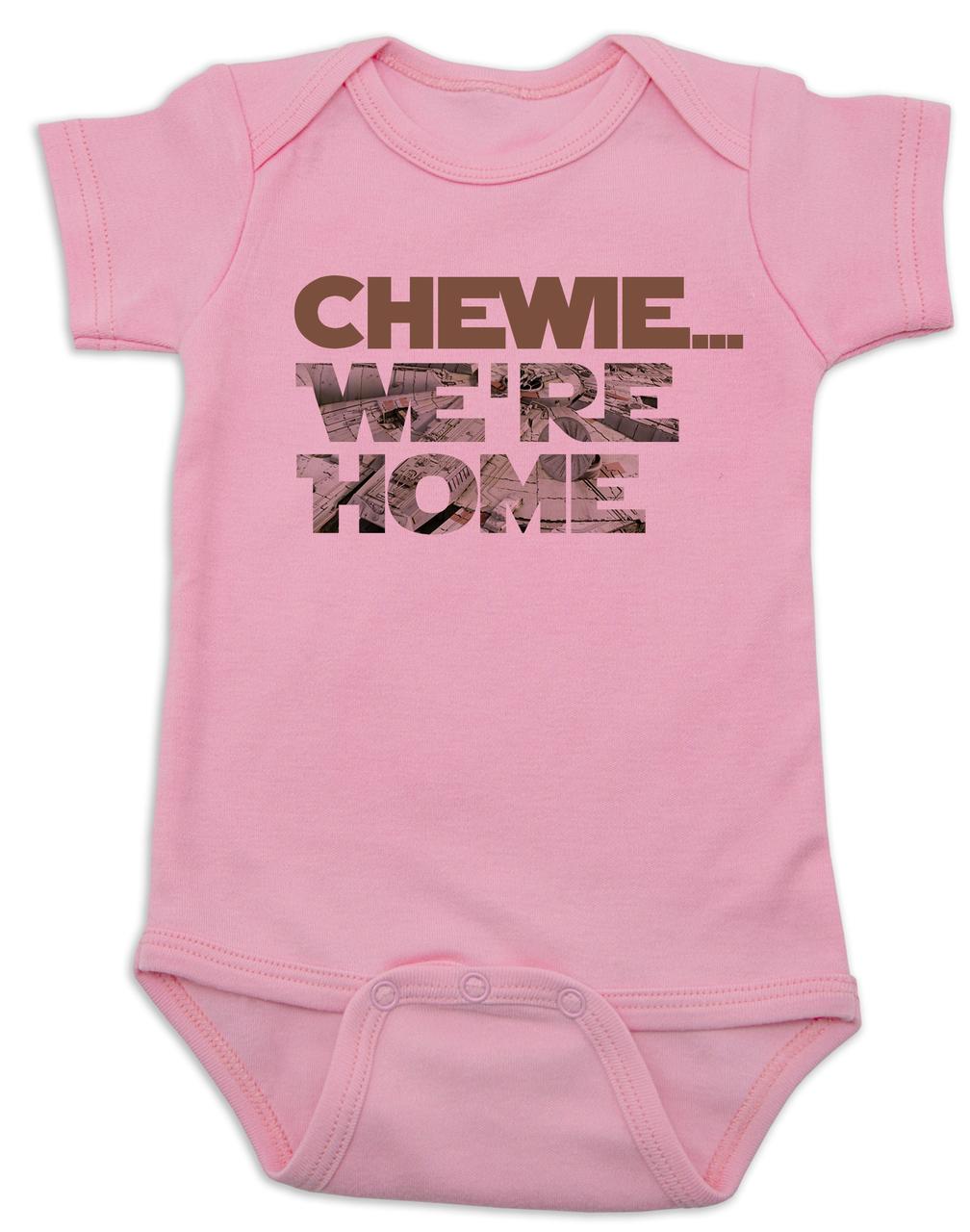 Star Wars Onesie Bodysuit Shirt Funny Shower Gift Chewbacca I Woke Up Like This