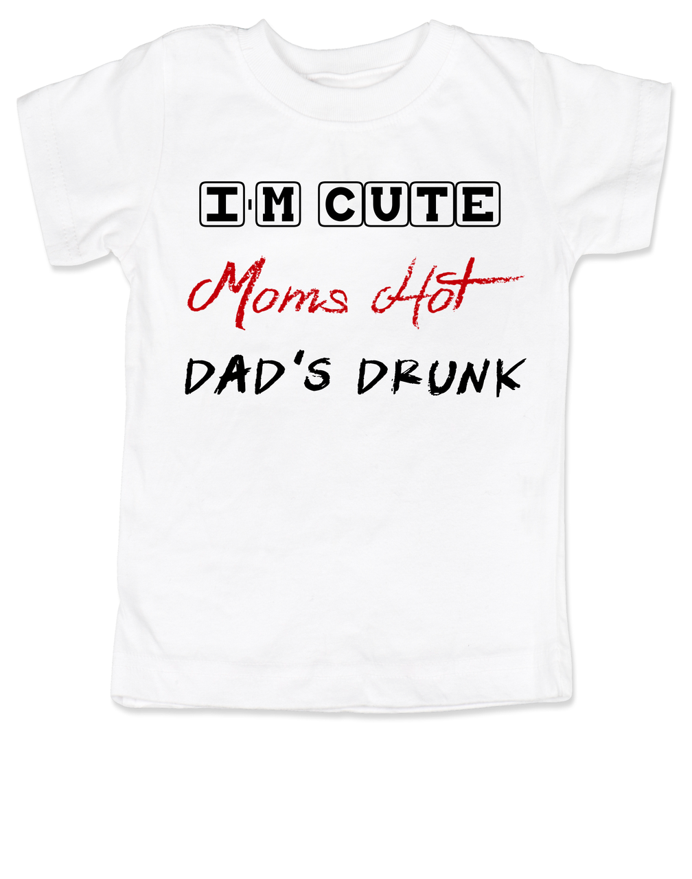 Funny Baby T-Shirt IF You Think IM Wonderful//Meet My DAD Toddler Tee