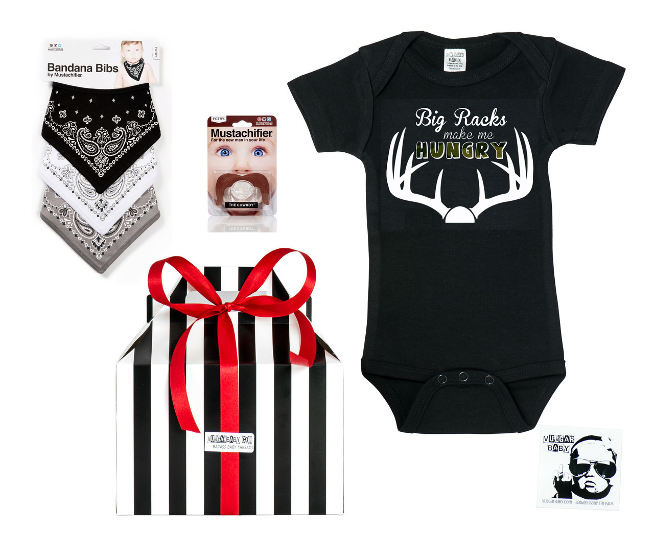 8292c1e6e444 Cowboy Baby   Cowgirl Baby Gift Set