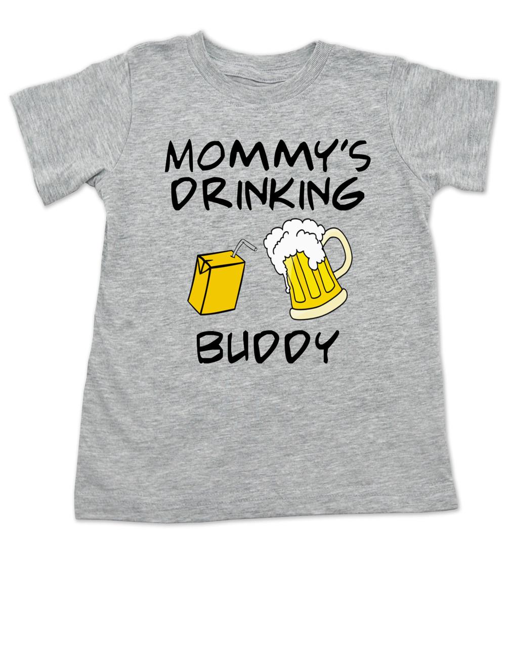 Herren T-Shirt /& Baby T-Shirt//Baby Top Passende Vater Baby Geschenkset Drink Milk Drinking Buddy