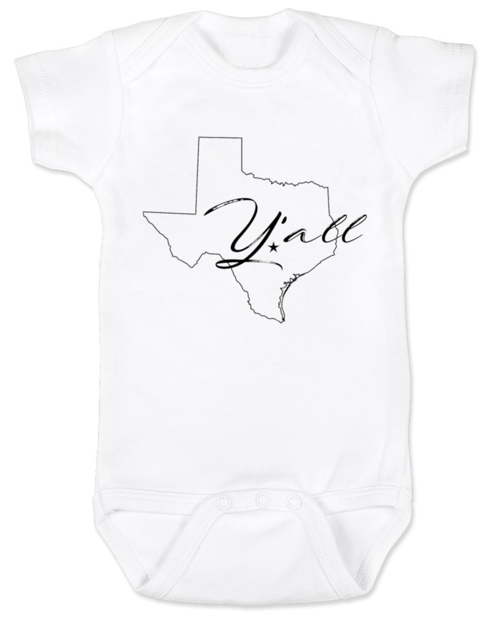 Texas Y All Baby Bodysuit