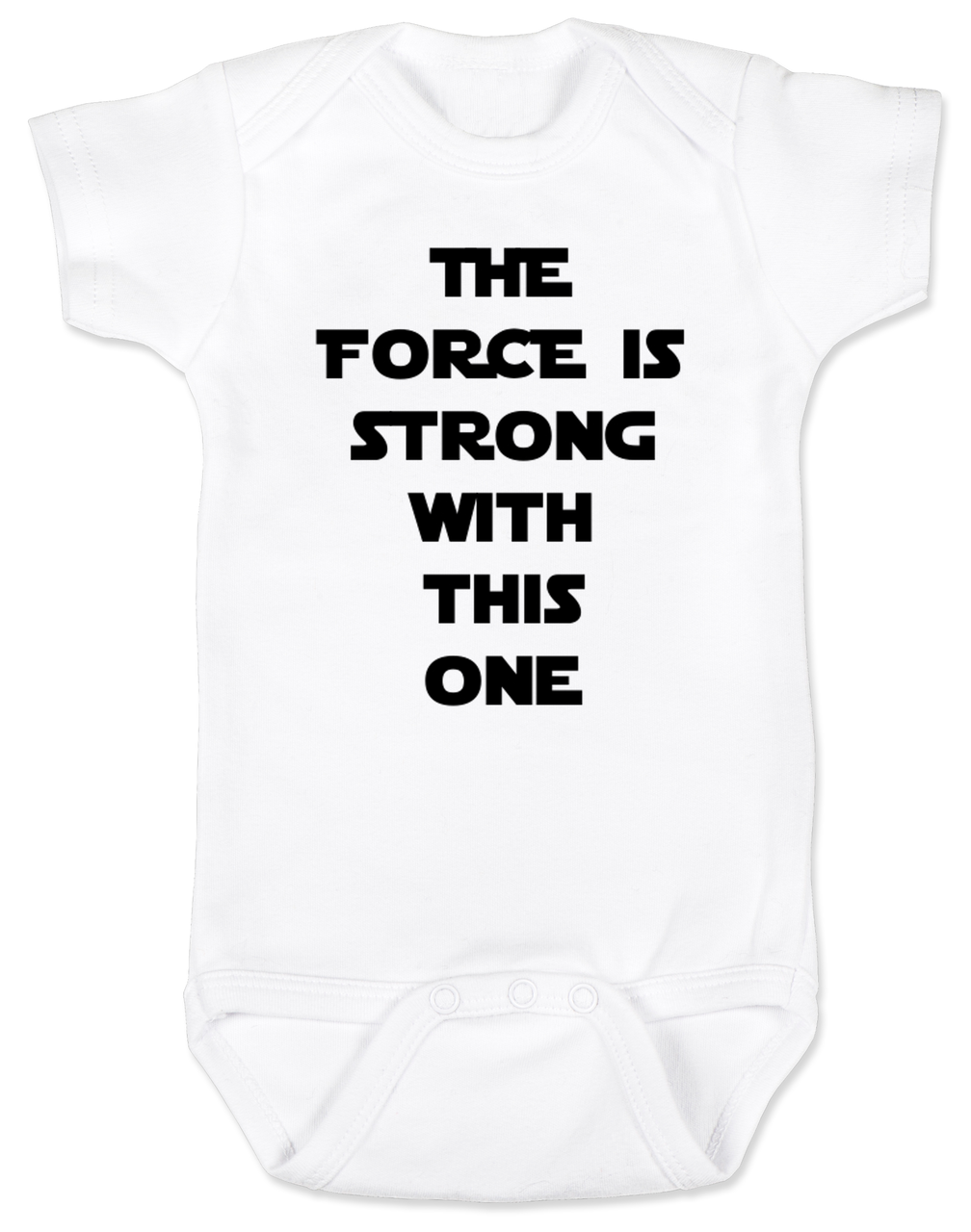 Star Wars Inspired Baby Vest Babygrow Novelty Baby Shower Cartoon Star Wars
