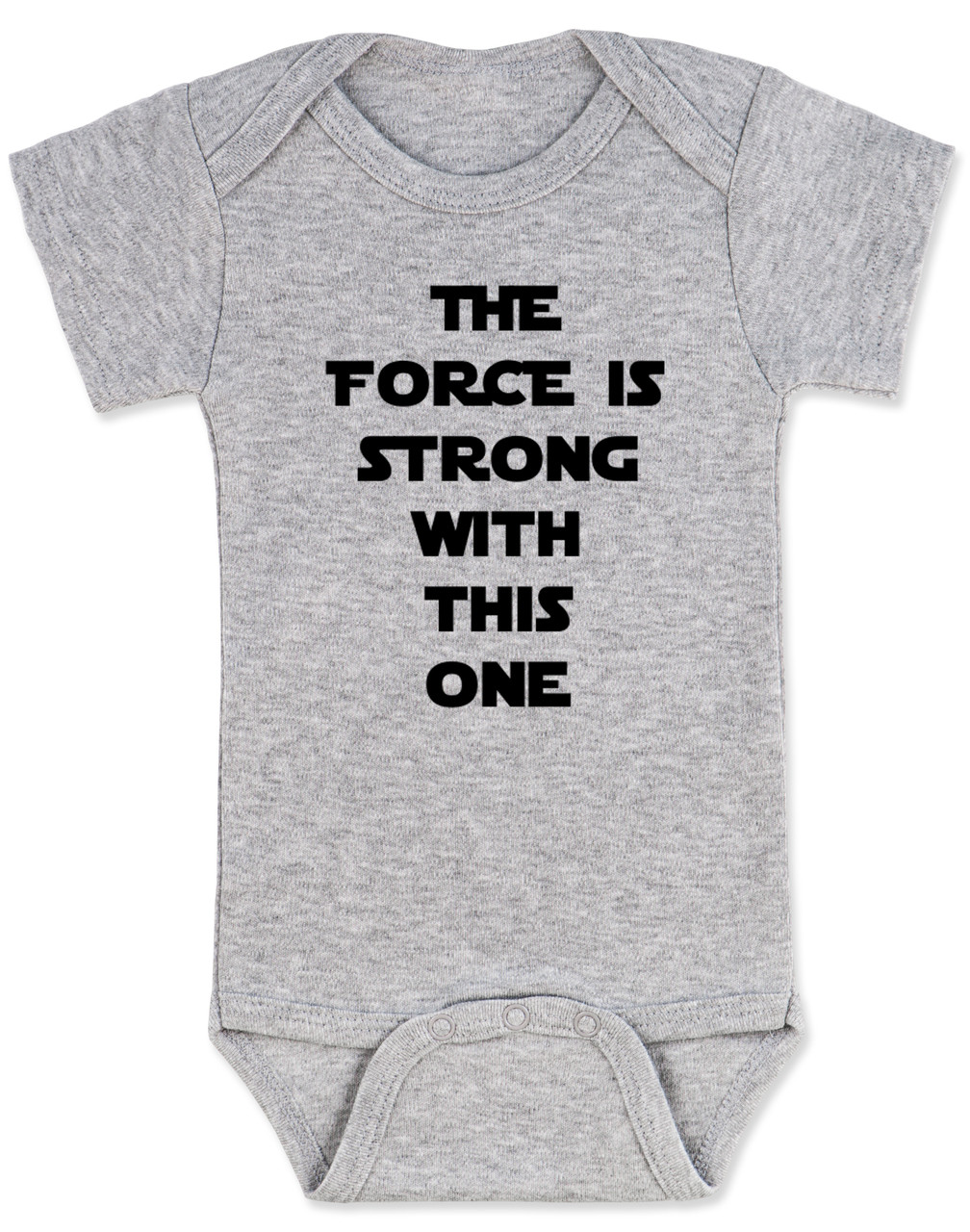 The Fart is Strong With This One Star Wars Cute Baby Girl//Boy clothes onesie