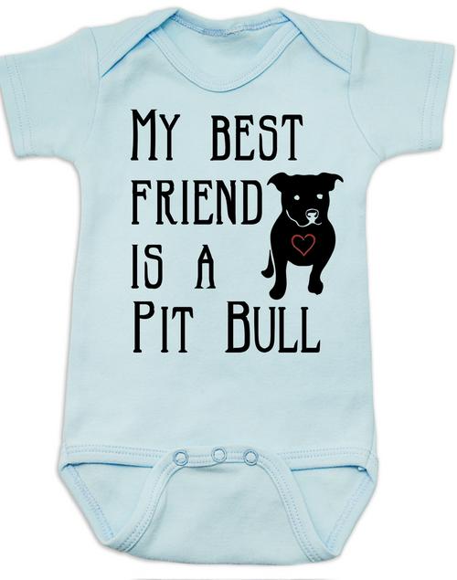 81cea128e ... Babies Best Friend Love-a-bull Bodysuit personalized dog lover Bodysuit  unique baby shower ...