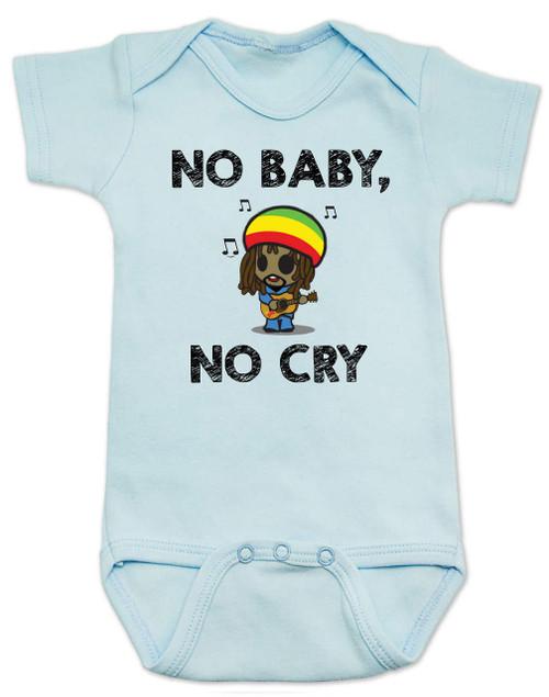 c6855a064 Bob Marley baby Bodysuit, No Baby No Cry, Reggae Music infant bodysuit, Rock